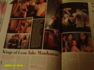 My favorite bedtime story from Rolling Stone: Kings of Leon Take Manhattan.